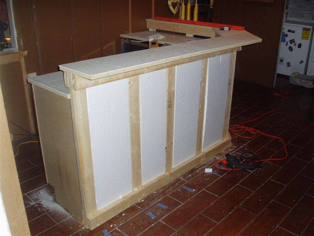 Bar plans page 2 avs forum home theater discussions and reviews Diy home bar design ideas